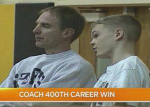 Coach 400 wins