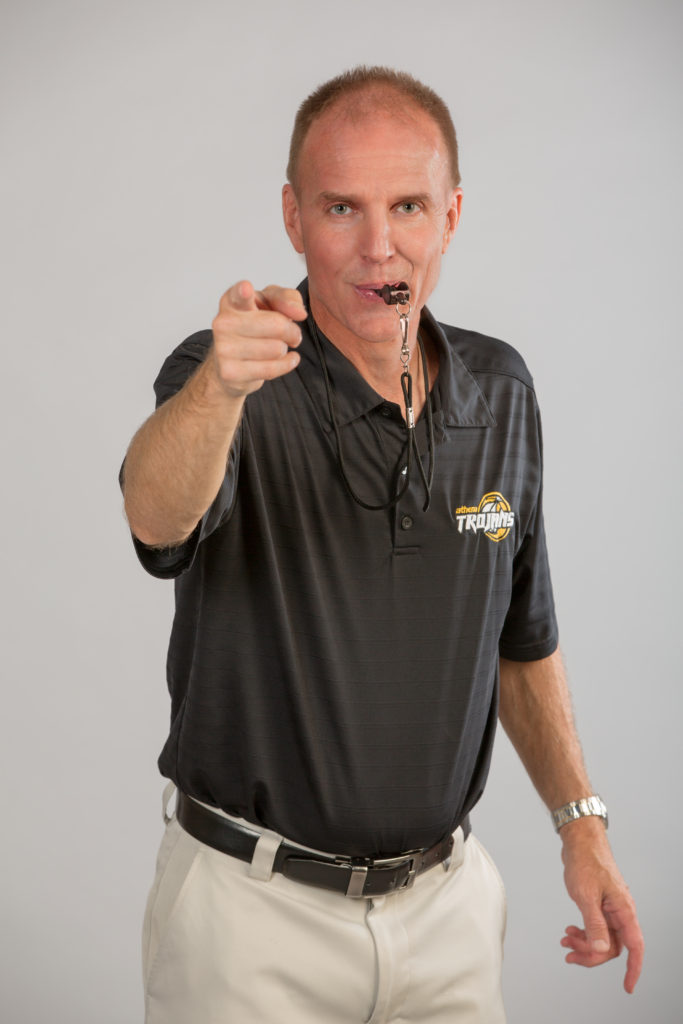 Jim Johnson High Res Black Shirt with Whistle
