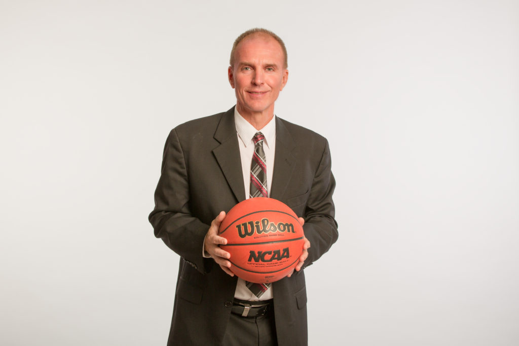 Jim Johnson High Res Suit with Basketball
